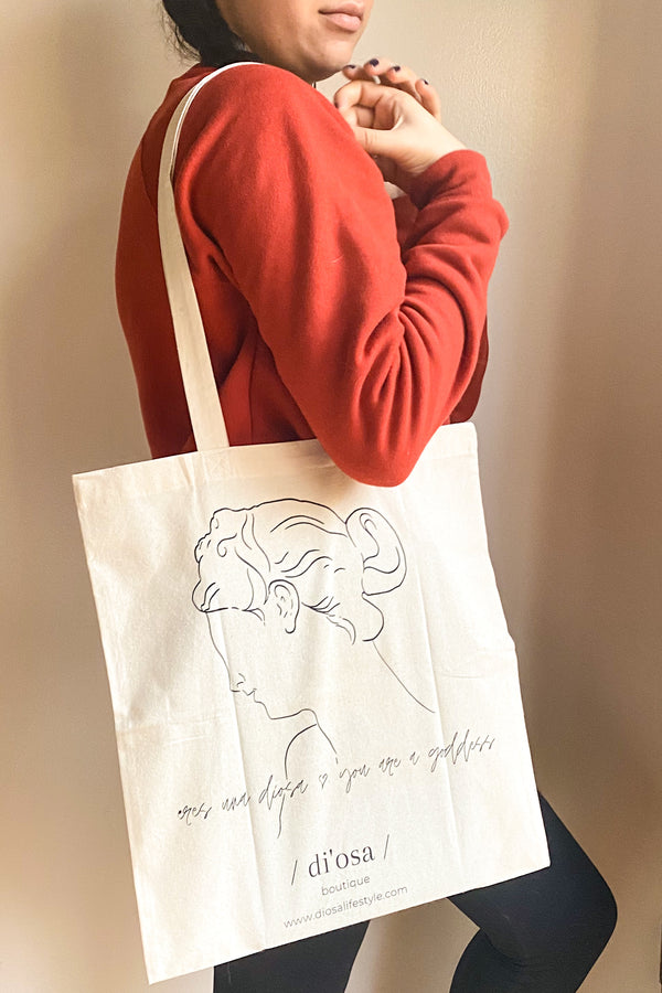 Goddess Canvas Tote | Diosa Life + Style Boutique