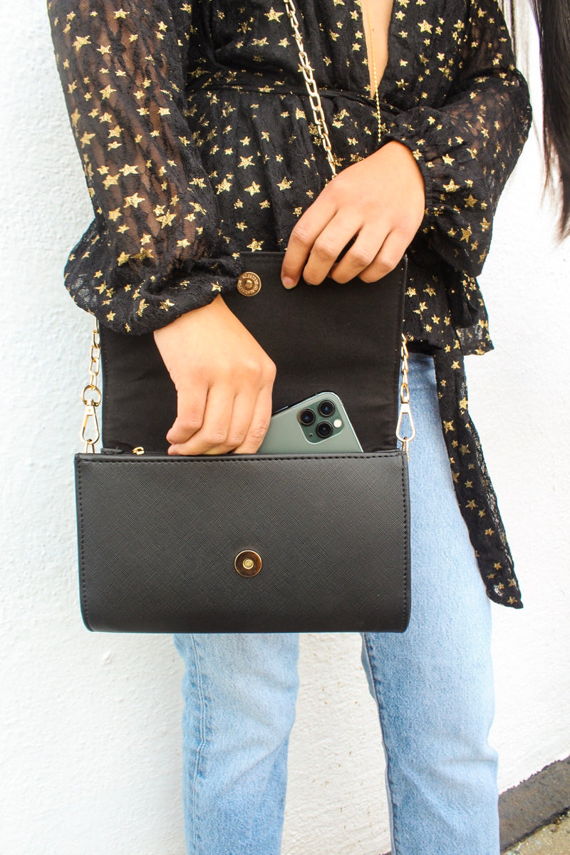 Courtney Faux Leather Crossbody Bag | Diosa Life + Style Boutique