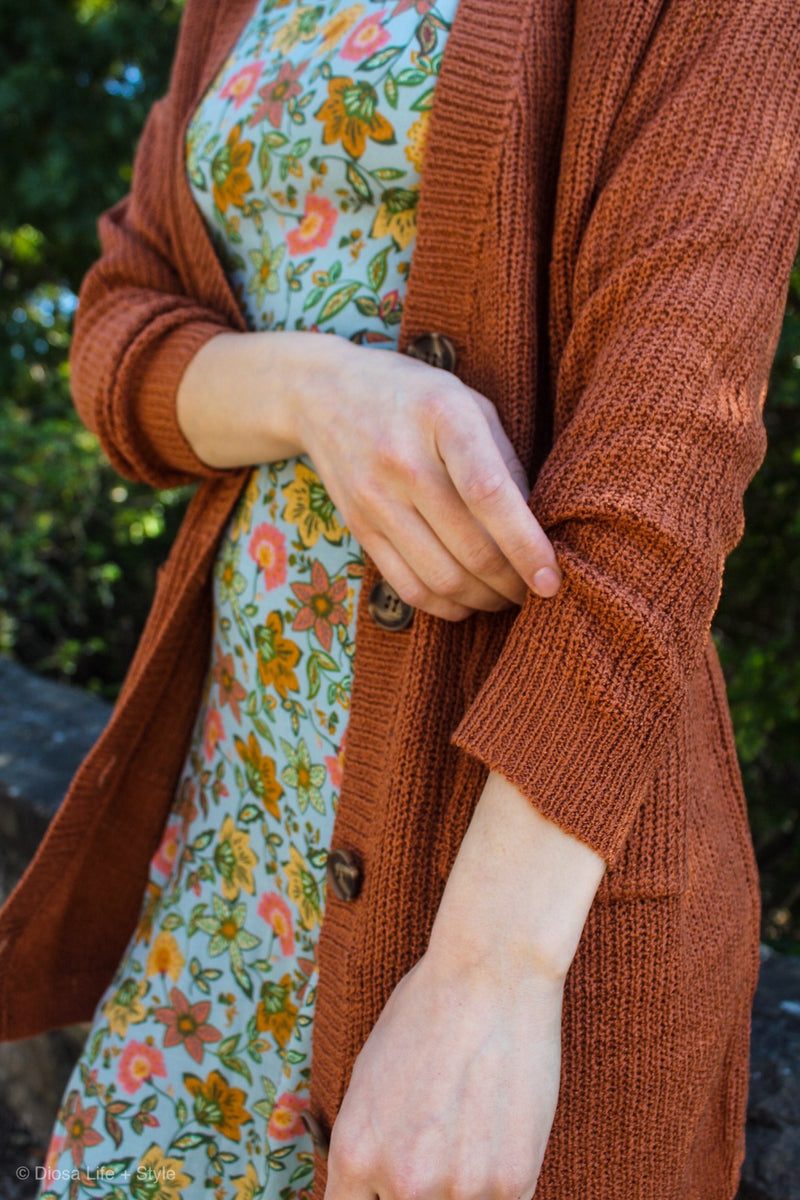 Billie Button Down Cardigan | Diosa Life + Style Boutique