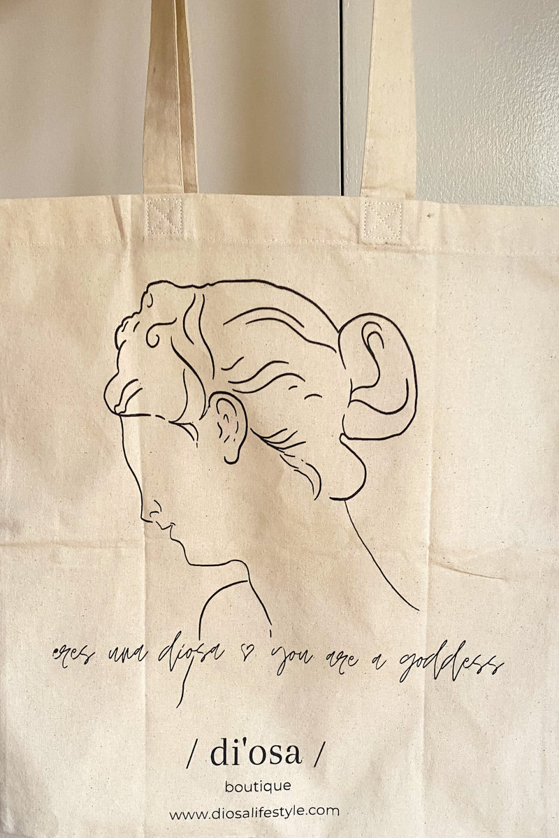 Goddess Canvas Tote