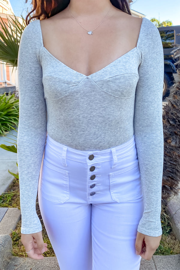 Missy Long Sleeve Bodysuit | Diosa Life + Style Boutique