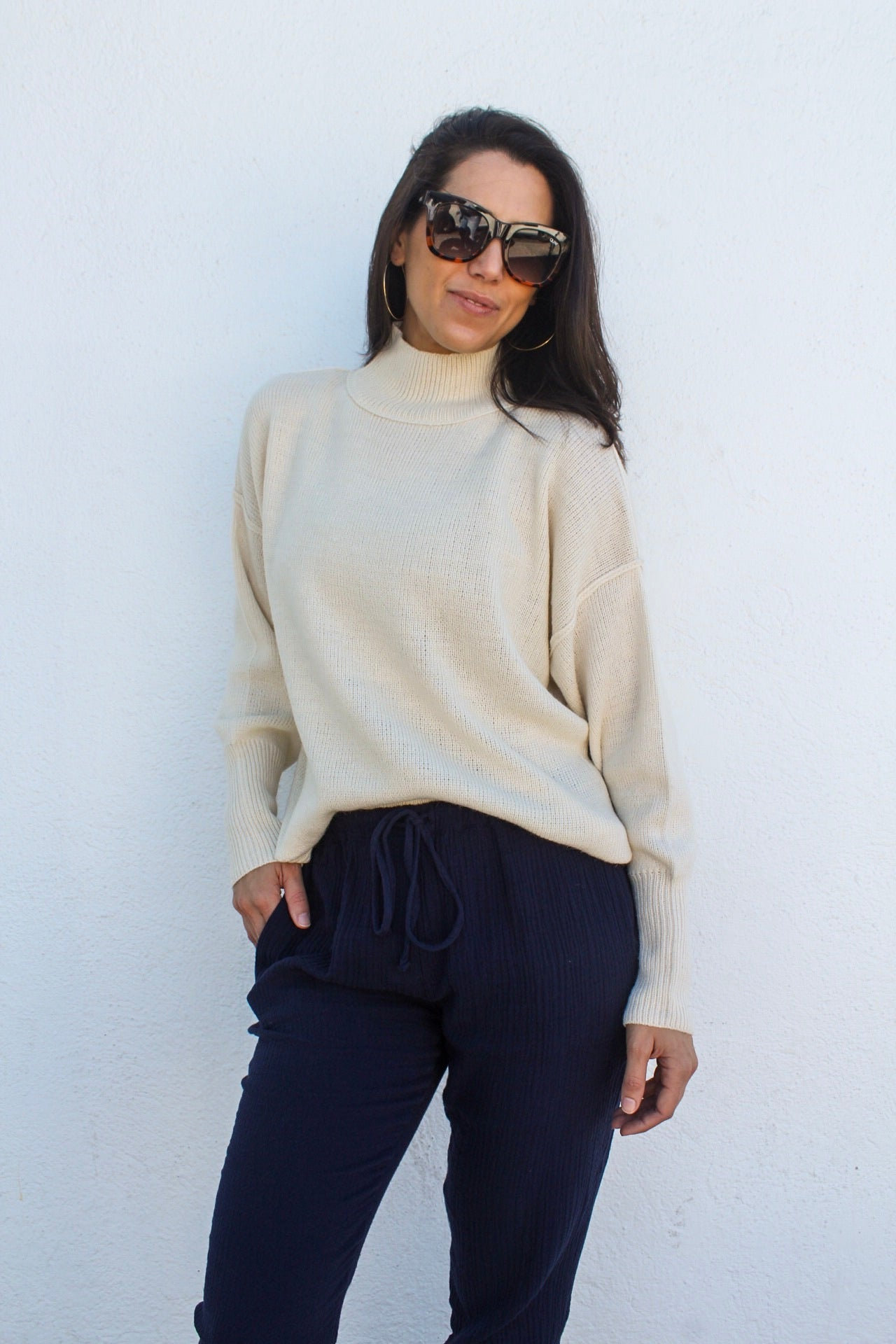 Lidia Turtleneck Sweater | Diosa Life + Style  Women's Online Boutique