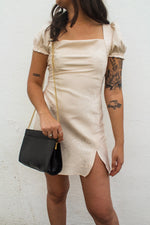 Nicole Satin Mini Dress