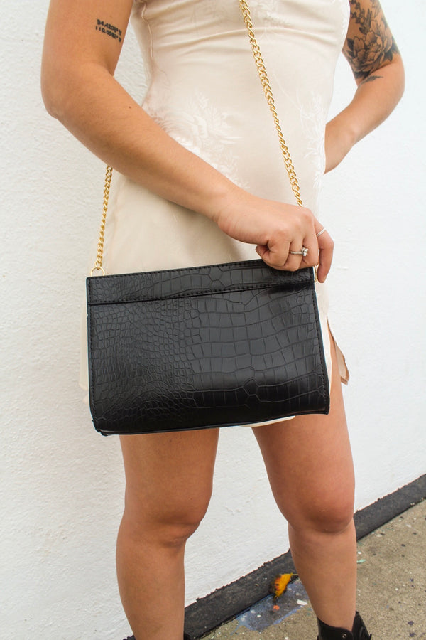 Khloe Snake Print Purse | Diosa Life + Style Online Boutique