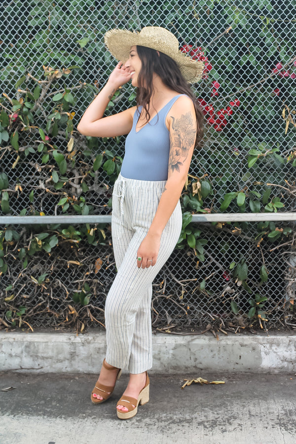 Thea Striped Pants