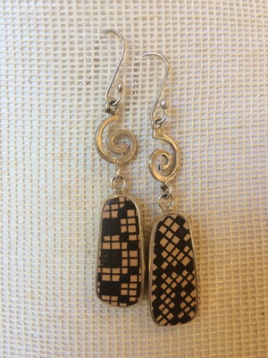 Sterling Silver Mata Ortiz Earring Set