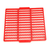 BPA FREE Plastic Wavy  Cutting Sheet For Sticks Cookies Molds,39 Sticks In One Piece.Biscuit Mould Cutter Cookie Tools K085