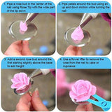 32-Piece Cake Decorating Supplies Tips Kits Penholder Cleanser Brush With Scissors For Mounting Pen Brush For Cream Bag