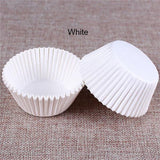 100 Pcs Cupcake Paper DIY Cake Muffin Baking Cups Case Liners Home Kitchen Baking Tools