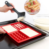 Waffle Molds Silicone 4-Cavity Waffles Cake Chocolate Mold Donut Maker Fondant Baking Molds Cake Decorating Mould Pan