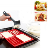 Waffle Makers for Kids Silicone Cake Mould Waffle Mould Silicone Bakeware Set Nonstick Silicone Baking Mold Set