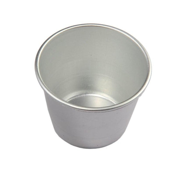 Aluminum Pudding Cups Cupcake Mold Cake Baking Moulds Tarte Candy Jelly Patisserie DIY Kitchen Accessories 6*4*4.5cm ZA3260