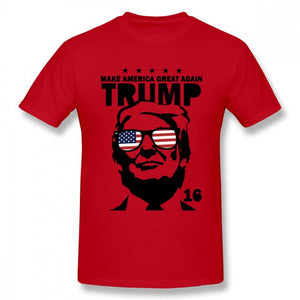 Donald Trump Make America Great Again T Shirt 100% Cotton