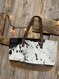 STS31118 Classic Cowhide Tote