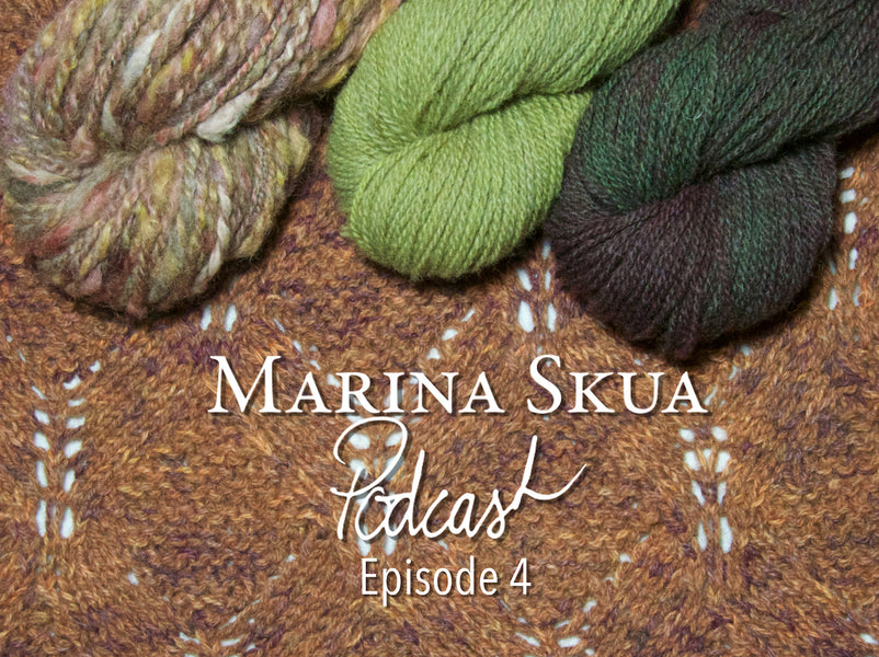 Episode 4 of the Podcast – A love of orange, darning socks and making calendula oil