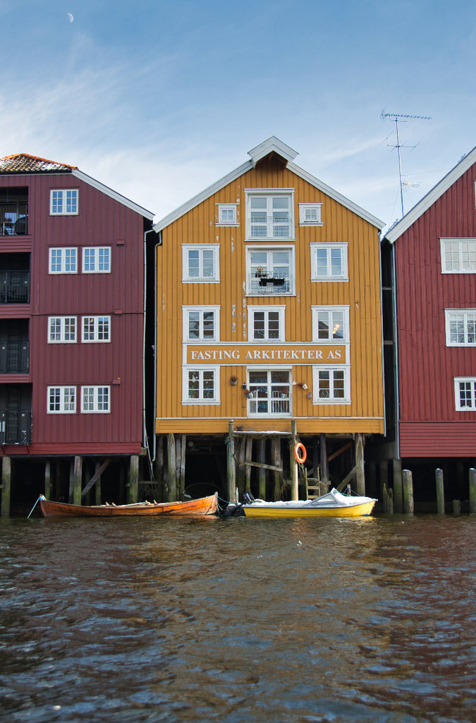 Houses in Trondheim