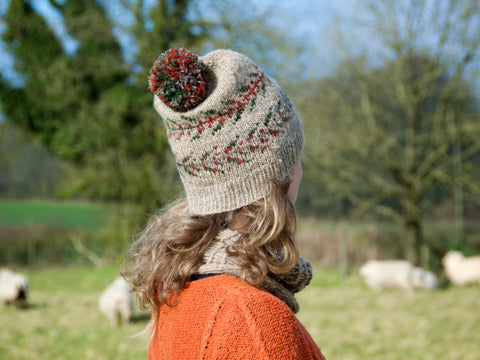Fernhill Hat with bobble