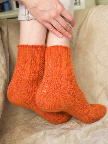 Fleos Socks Designed by Marina Skua