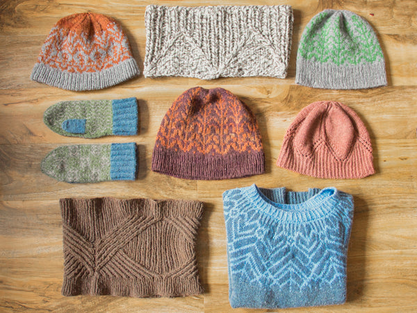 Marina Skua yarn and designs