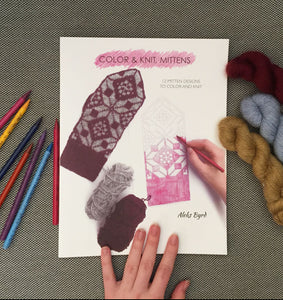 Color & Knit, Mittens book by Aleks Byrd