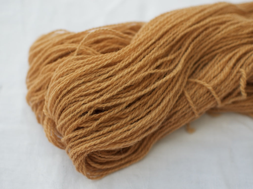 Mendip 4-Ply – Avocado & Onion, dark (Natural dye)