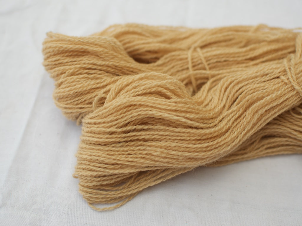 Mendip 4-Ply – Avocado & Onion, light (Natural dye)