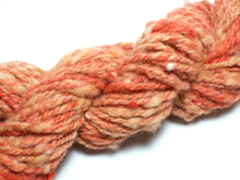 Load image into Gallery viewer, Carrot Soup – Handspun wool Art Yarn in orange (70g)