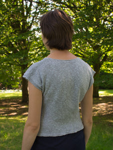 Oak Moss tee knitting pattern
