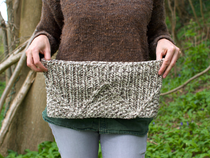 Gaderian cowl knitting pattern