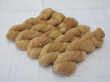 Load image into Gallery viewer, Mendip 4-Ply – Avocado, Tea & Dandelion variegated (Natural dye)