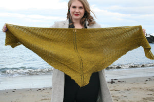 Mendip 4-Ply Kits for Ferry Cottage shawl