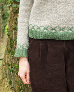 Boskular jumper knitting pattern
