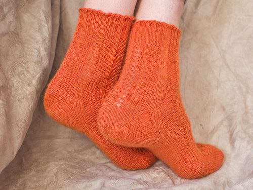 Fleos Socks knitting pattern