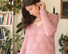 Load image into Gallery viewer, Hexangle jumper knitting pattern