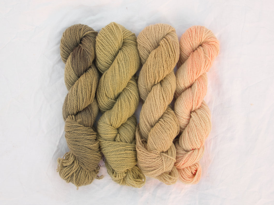 Mendip 4-Ply – Naturally Dyed Set 1