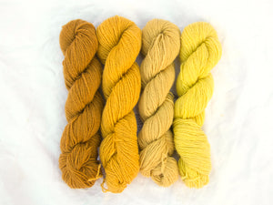 Mendip 4-Ply – Naturally Dyed Set 2