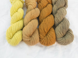 Mendip 4-Ply – Naturally Dyed Set 3