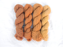 Load image into Gallery viewer, Mendip 4-Ply – Naturally Dyed Set 4