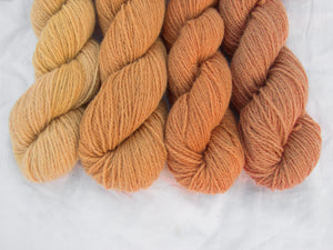 Mendip 4-Ply – Naturally Dyed Set 4