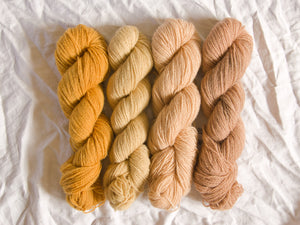 Mendip 4-Ply – Naturally Dyed Set 9