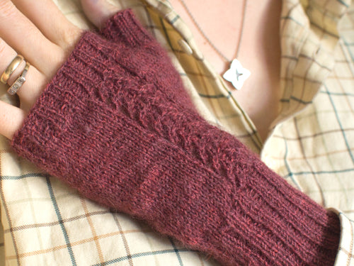 Wynsum Mitts knitting pattern