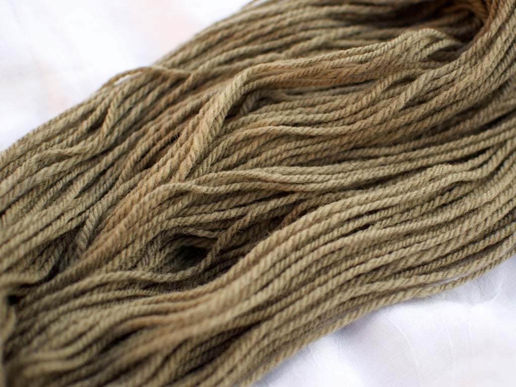 Shetland Aran – Alder and Iron (Natural dye)