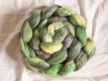 Load image into Gallery viewer, Acid Pools – Bluefaced Leicester/soy fibre tops (100g)