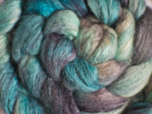 Load image into Gallery viewer, Frozen Cavern – Bluefaced Leicester/soy fibre tops (100g)