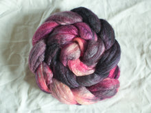 Load image into Gallery viewer, Storm Temple – Bluefaced Leicester/soy fibre tops (100g)