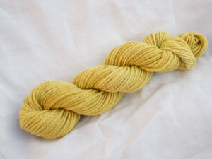 Shetland Aran – Ivy, Willow, Calendula, Lichen and Iron (Natural dye) DISCONTINUED BASE
