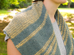 Leoma shawl knitting pattern