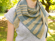 Load image into Gallery viewer, Leoma shawl knitting pattern