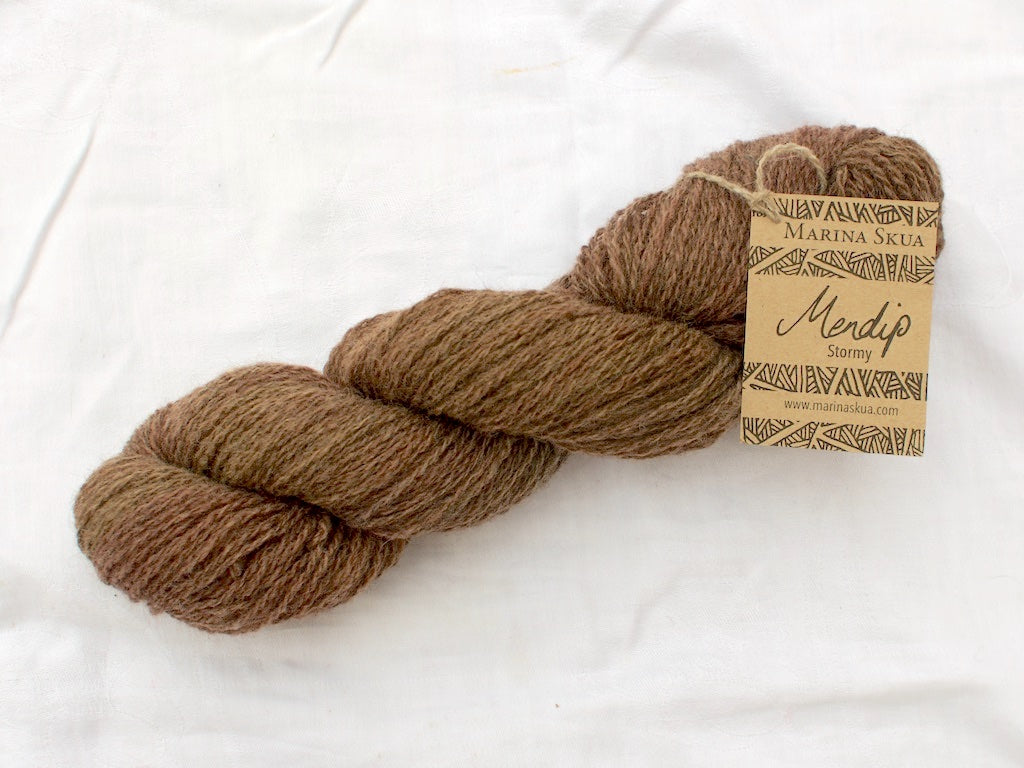 Mini-skein Mendip 4-Ply – Branch (Stormy) DISCONTINUED