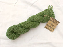 Load image into Gallery viewer, Mini-skein Mendip 4-Ply – Leaf (Stormy)